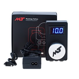 Блок питания Mustang Tattoo Power Box Practic Черный Муар PBP1